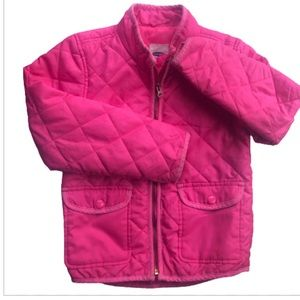 OLD NAVY GIRLS LIGHTWEIGHT QUILTED JACKET S 6/7
